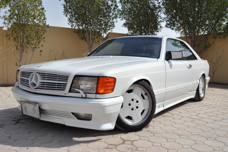 w126 560 sec amg body kit 1988 us version mercedes benz. Black Bedroom Furniture Sets. Home Design Ideas