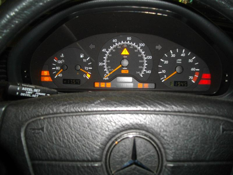 Warning Lights On Dash C200 Classic Mercedes Benz Forum