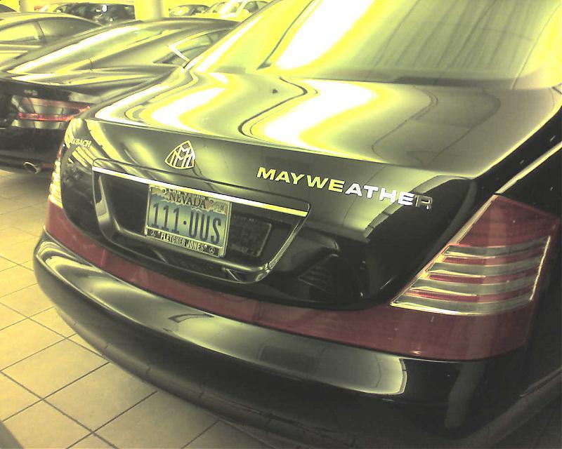 Floyd Mayweather S Maybach Mercedes Benz Forum
