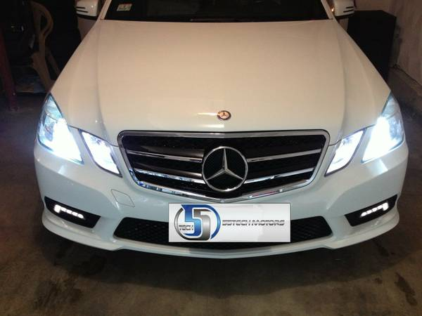 Mercedes Benz E350 Front Grille Amp Steering Button Repair