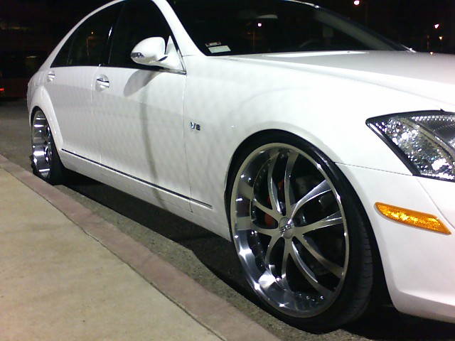 07 S550 Put Some 22 S On It Yesterday Mercedes Benz Forum