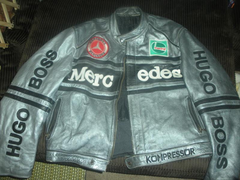 Mclaren mercedes racing jacket mercedes benz forum for Mercedes benz leather jacket