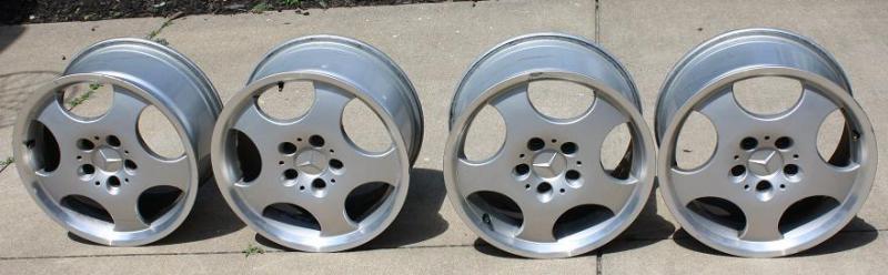 "For Sale: Mercedes 16"" Aluminum Rims and Tires-033.jpg"