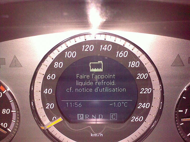 Check Coolant Level Mercedes Benz Forum