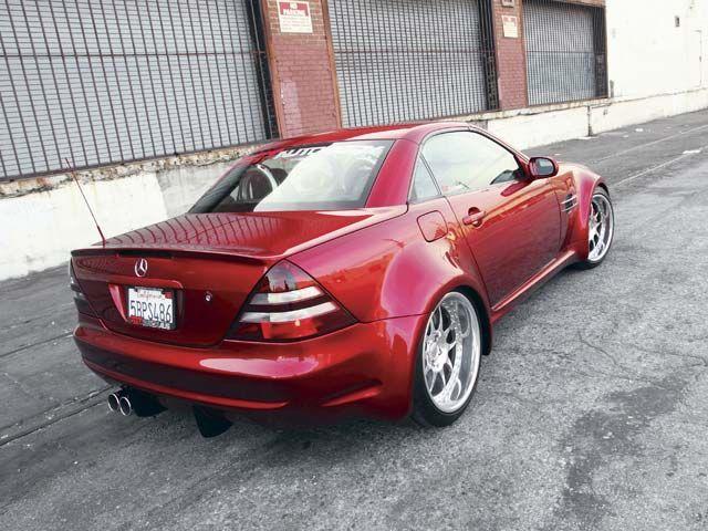 Click Image For Larger Version Name 0607eurp 06z 1999 Mercedes Benz Slk 230 Rear Side Parked Jpg Views