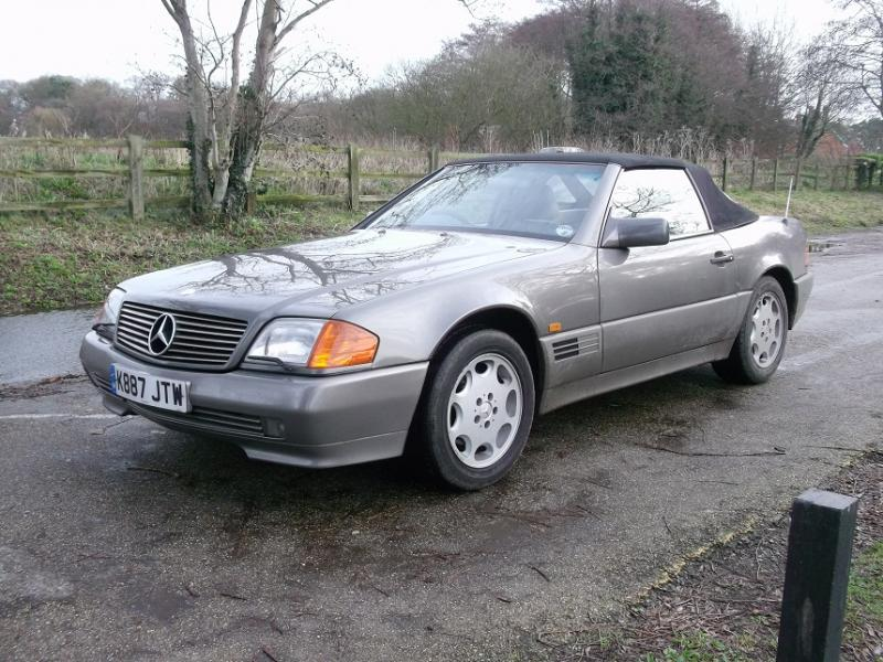Late hard top on - UK - Mercedes-Benz Forum