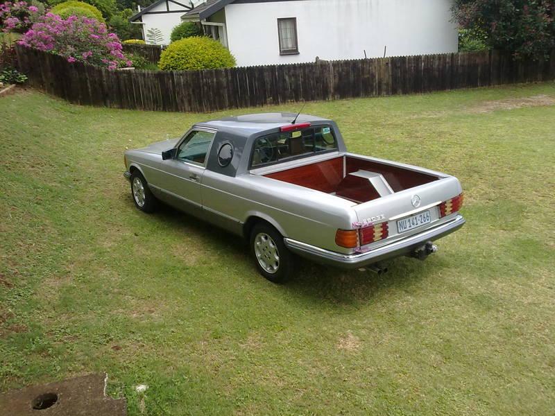 Mercedes Benz Denver >> An African W126 Ute/Bakkie/ Pickup - Mercedes-Benz Forum