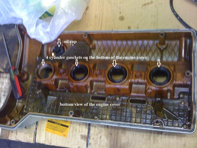 D Benz Slk Engine Gasket Cylinder Covers Bottom Engine Cover on 6 Cylinder Location