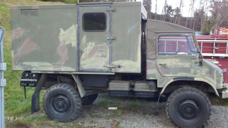 Low Gas Prices >> 404 Swiss 1962 Unimog with Fiberglass command box - Mercedes-Benz Forum