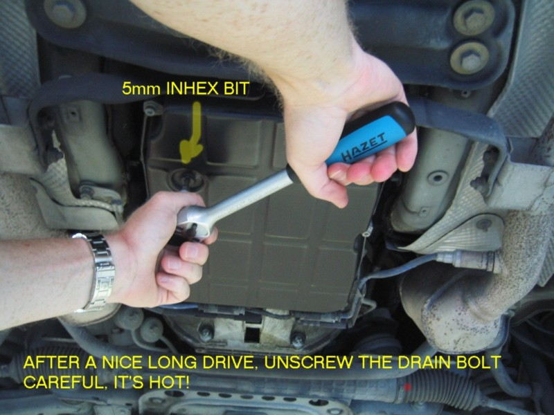 Photo Diy 722 6x Transmission Fluid Change Mercedes