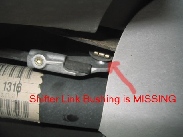 Photo Diy Shifter Linkage Bushing Repair Mercedes Benz