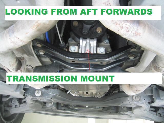 Photo Diy Rear Engine Transmission Mount Replacement Mercedes Benz Forum