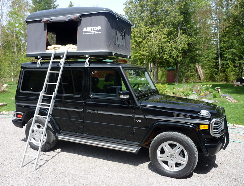 Attached Thumbnails. Click image for larger version Name 1.jpg Views 3346 Size 575.3 & Easy to install rear ladder for tent access? - Mercedes-Benz Forum