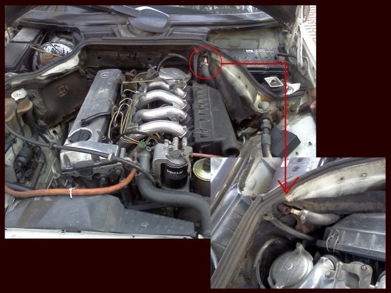 W124 Engine bay queries - Mercedes-Benz Forum