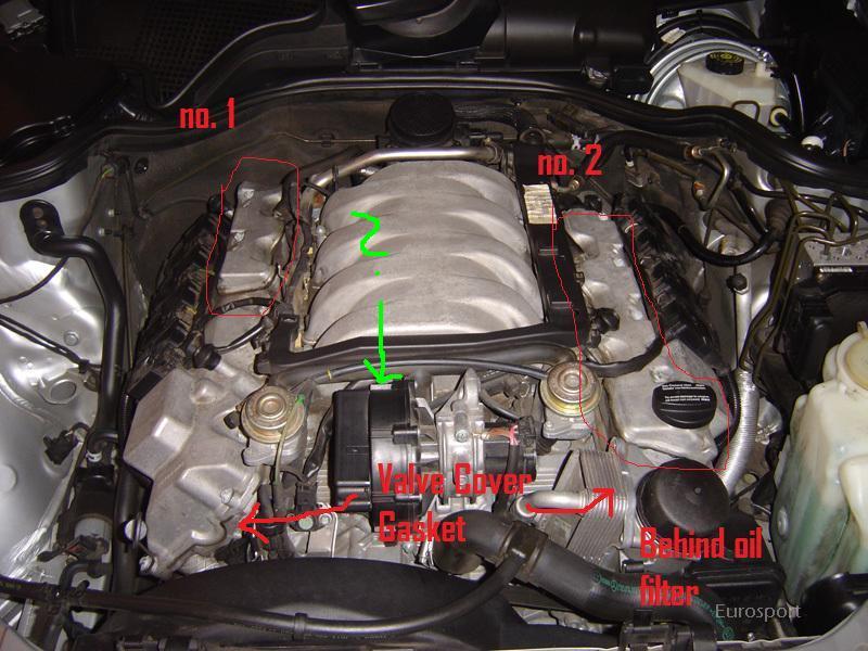 e55 valve cover gasket - Mercedes-Benz Forum