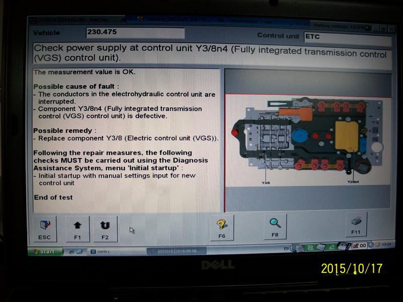 Oil Pan Leak >> A stored fault code 200A relating to component Y3/8N4 on ...
