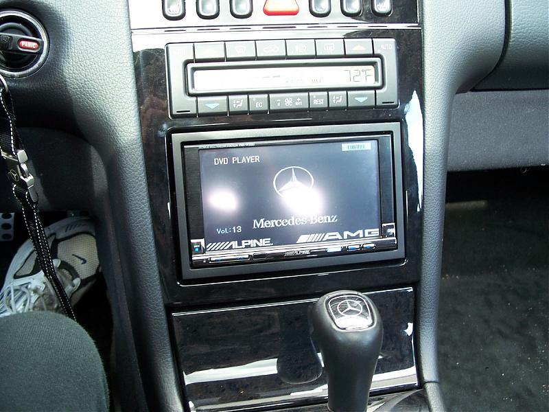 doubled din headunit  - Mercedes-Benz Forum