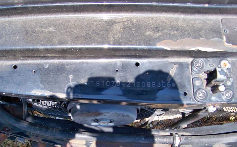 Vin Number Decode Page 16 Mercedes Benz Forum