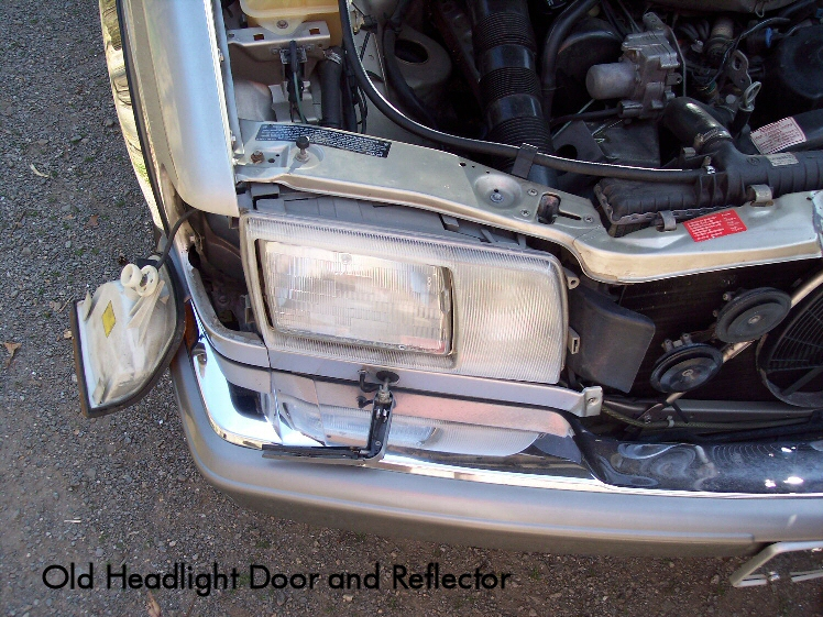 D How Replace Oem Headlight Frame Caption