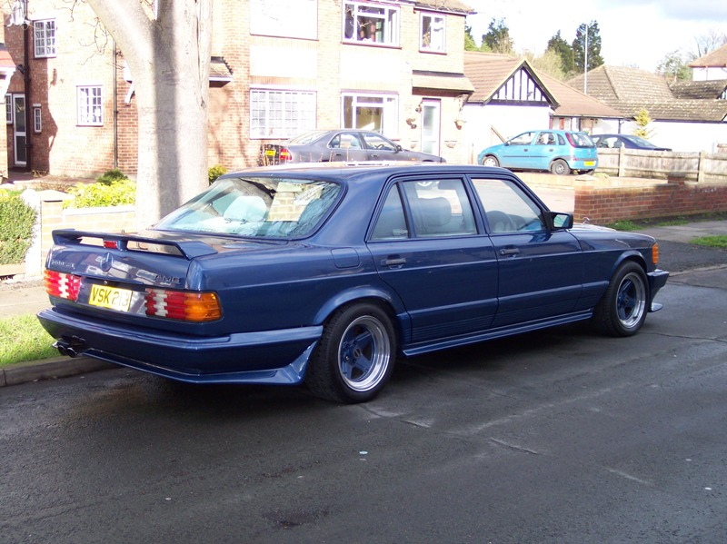 Pics Of My Genuine Amg Production W126 Sel Mercedes