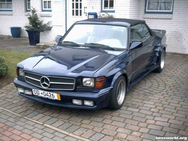 Tuning K Nig Convertible Replika W123 V8 Mercedes Benz Forum