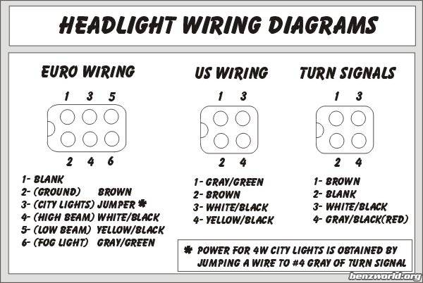 Headlight Wiring Diagrams