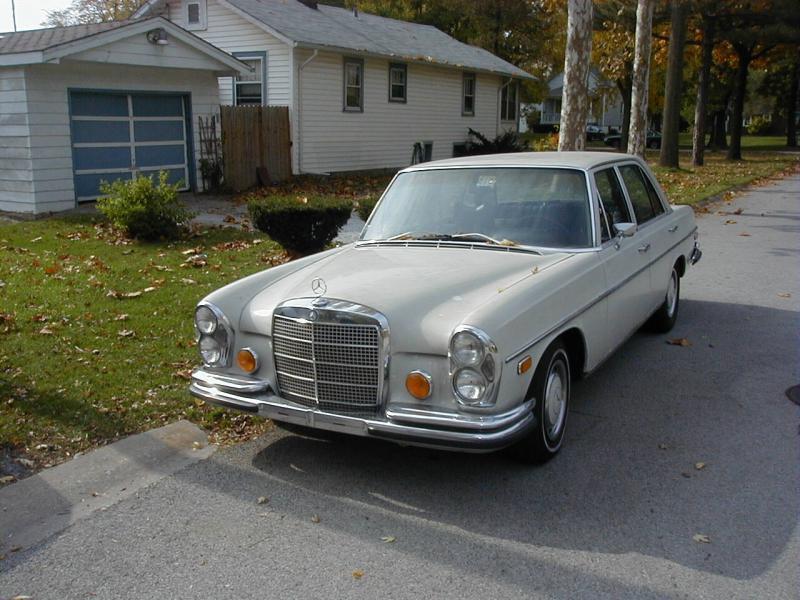 1970 mercedes 280se 108 body or best offer for Mercedes benz giveaway