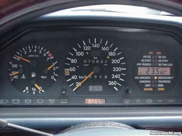 Installing Trip Computer On W124 Mercedes Benz Forum