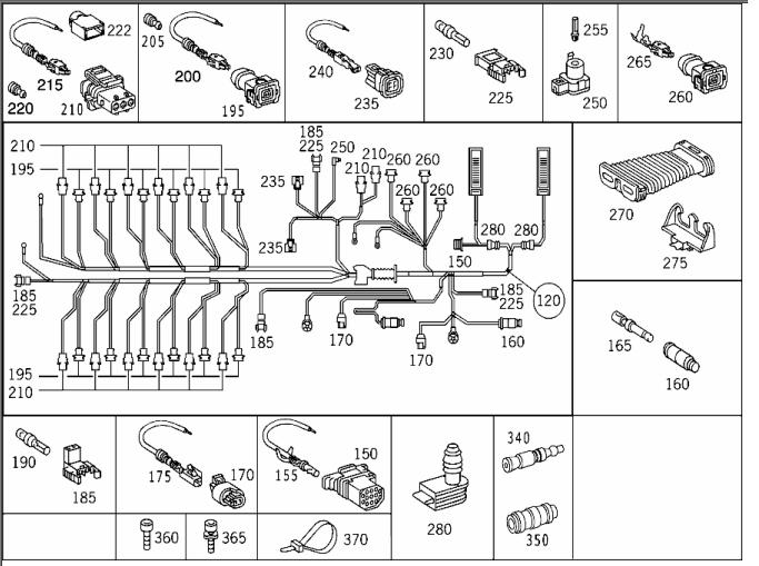 Need S600 Coupe Engine    Wiring    Harness electrical    diagram     Mercedes   Benz    Forum