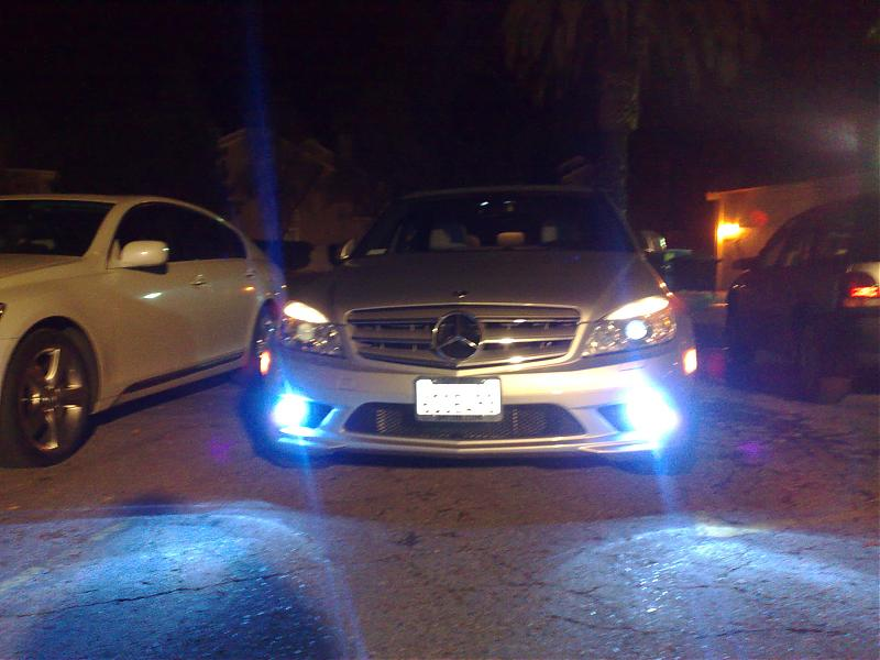 What Are Hid Headlights >> C300 w204 HID Fog Lights upgrade! - Mercedes-Benz Forum