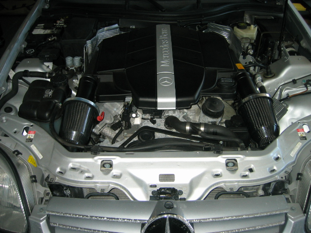 Dual Cold Air Intake 320 Project W Photos Mercedes Benz