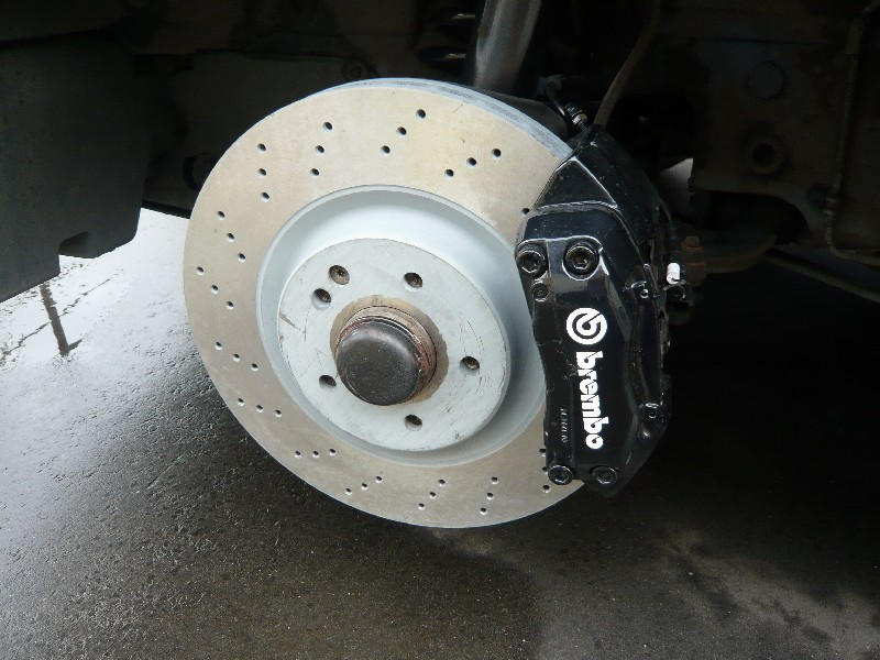 Mb Cross Drilled Rotors Brembo Calipers Upgrade Lots