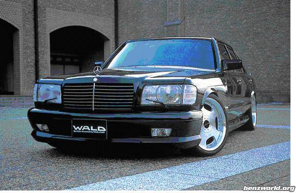 wald body kits for w126 coupe - Mercedes-Benz Forum