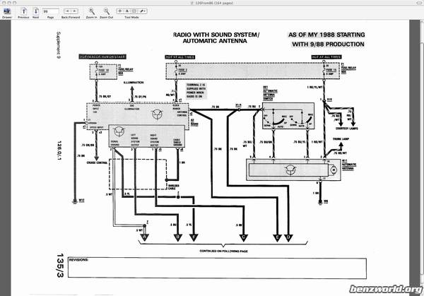 mercedes s320v wiring diagram schematic diagram electronic  mercedes 560sel radio wiring 1988 560sl heater rhmaerkangorg mercedes s320v wiring diagram at selfit