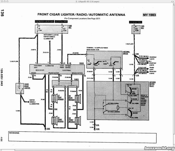 Sophisticated Mercedes W114 Wiring-diagram Radio Contemporary - Best ...