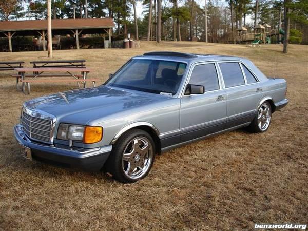 Pic 88 420 Sel Chrome Amg Wheels Mercedes Benz Forum