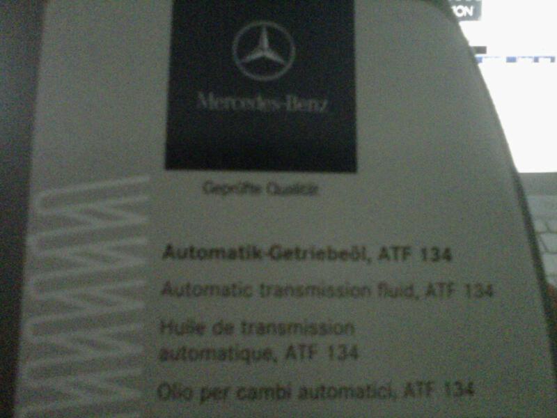 Valvoline MaxLife ATF vs  MB ATF | Mercedes-Benz Forum