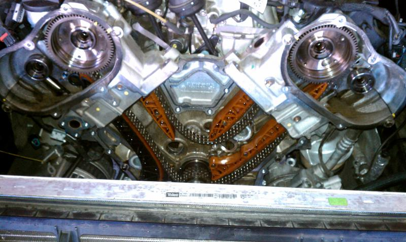 Mercedes c230 balance shaft problems for Mercedes benz m272 engine