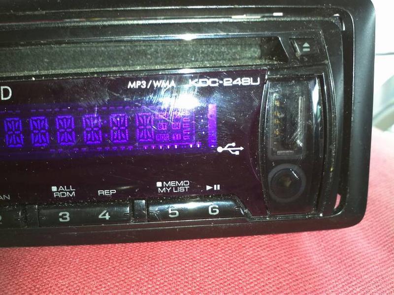FS:  Kenwood CD detachable face CD iPod direct w/ Mercedes adapter-1373477236130.jpg