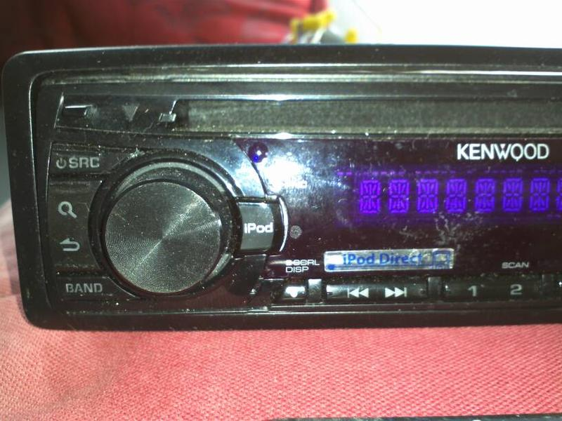 FS:  Kenwood CD detachable face CD iPod direct w/ Mercedes adapter-1373477279904.jpg