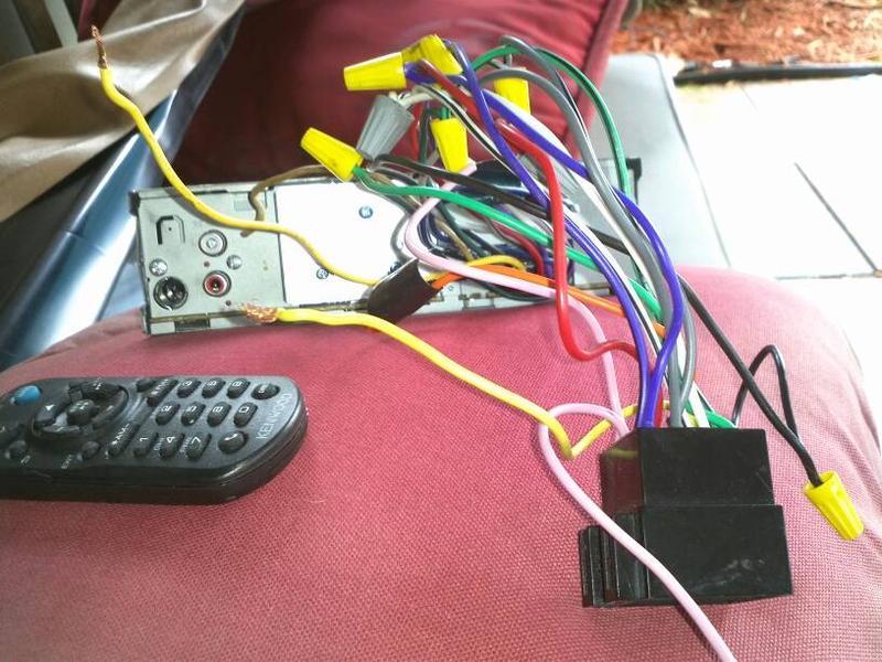 FS:  Kenwood CD detachable face CD iPod direct w/ Mercedes adapter-1373477295124.jpg