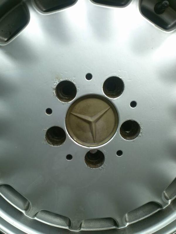 """VERY RARE W140 EURO GRAY MARKET 16"""" RIMS WITH CLOSE TO NEW TIRES-1381179021184.jpg"""