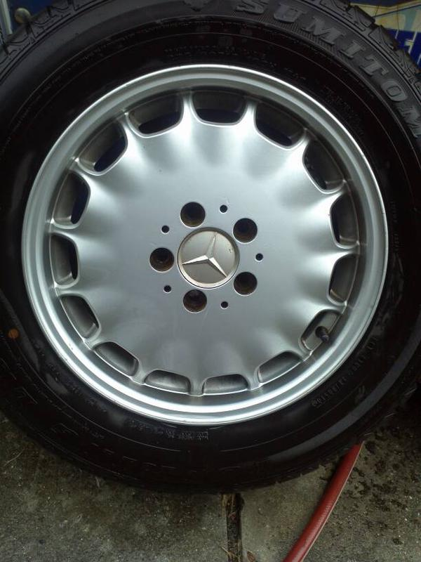 """VERY RARE W140 EURO GRAY MARKET 16"""" RIMS WITH CLOSE TO NEW TIRES-1381179040073.jpg"""