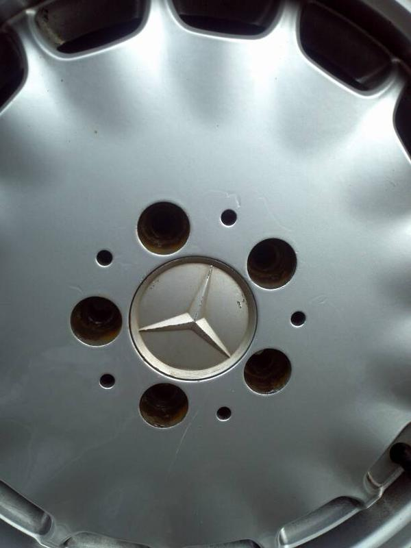 """VERY RARE W140 EURO GRAY MARKET 16"""" RIMS WITH CLOSE TO NEW TIRES-1381179079107.jpg"""