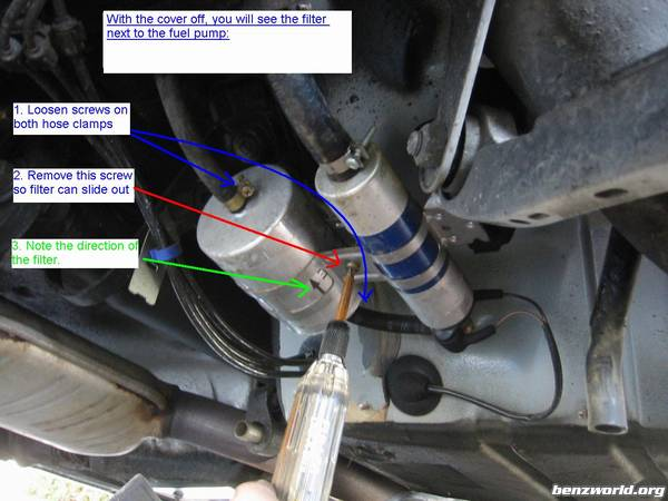 Fuel Filter Replacement Procedure W140 Mercedesbenz Forumrhbenzworldorg: Fuel Filter For 6 2 Sel At Gmaili.net