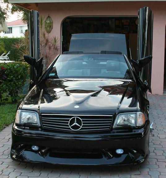 R129 With Lambo Doors Mercedes Benz Forum