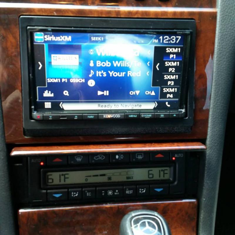 2016 Buick Grand National >> My double din - Mercedes-Benz Forum