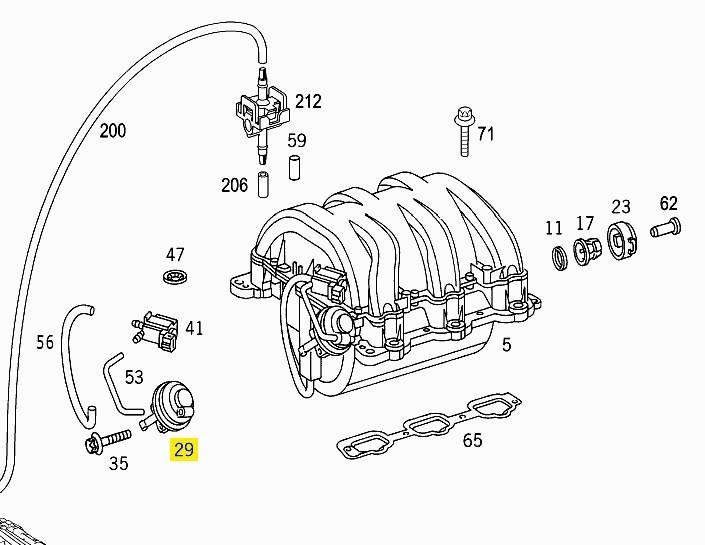 Astonishing mercedes benz egr valve wiring diagram pictures best valve pump what is it mercedes benz forum cheapraybanclubmaster Choice Image