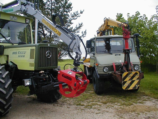 a mb trac 1000 is a unimog right page 2 mercedes. Black Bedroom Furniture Sets. Home Design Ideas