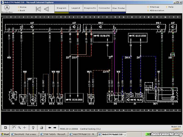 Wiring Diagrams for W210 | Mercedes-Benz ForumBenzWorld